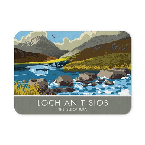 Loch An T Siob, The Isle of Jura, Scotland Mouse mat
