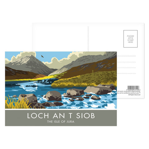 Loch An T Siob, The Isle of Jura, Scotland Postcard Pack