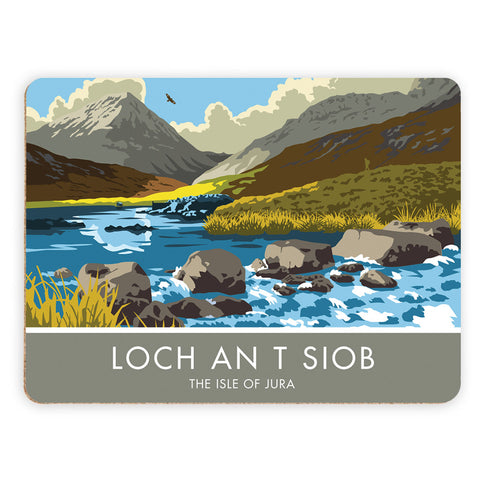 Loch An T Siob, The Isle of Jura, Scotland Placemat
