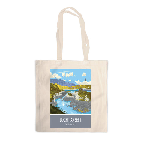 Loch Tarbert, The Isle of Jura, Scotland Canvas Tote Bag