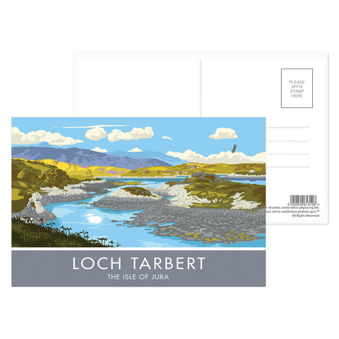 Loch Tarbert, The Isle of Jura, Scotland Postcard Pack
