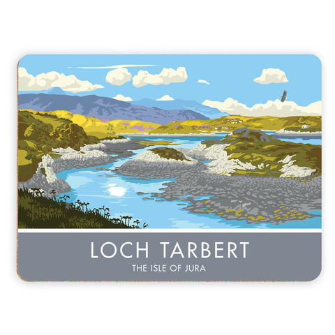 Loch Tarbert, The Isle of Jura, Scotland Placemat
