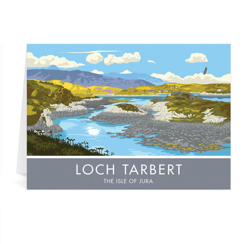 Loch Tarbert, The Isle of Jura, Scotland Greeting Card 7x5