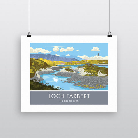 Loch Tarbert, The Isle of Jura, Scotland 90x120cm Fine Art Print