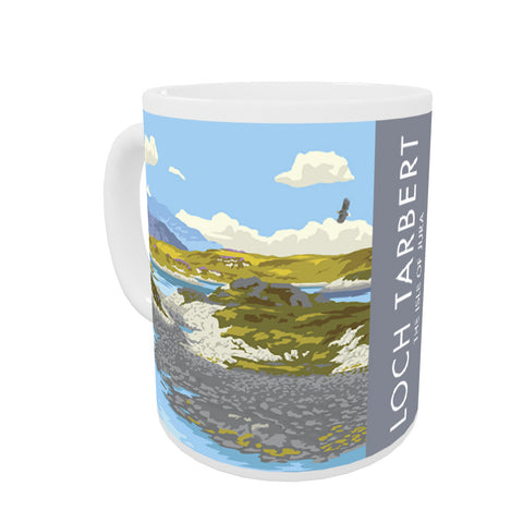 Loch Tarbert, The Isle of Jura, Scotland Coloured Insert Mug
