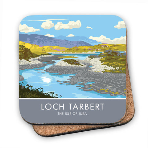 Loch Tarbert, The Isle of Jura, Scotland MDF Coaster