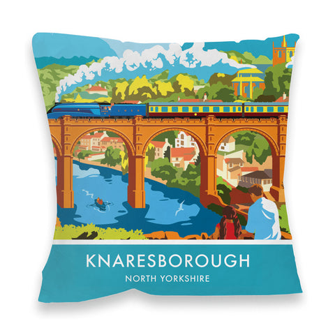 Knaresborough, North Yorkshire Fibre Filled Cushion