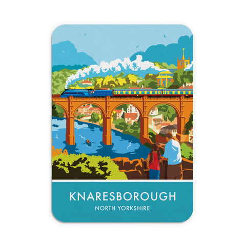 Knaresborough, North Yorkshire Mouse mat