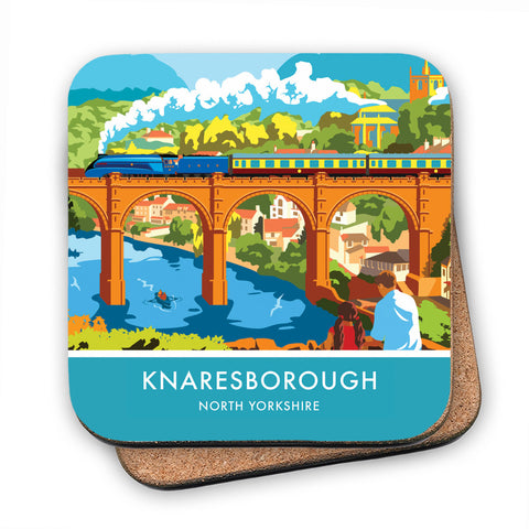 Knaresborough, North Yorkshire MDF Coaster