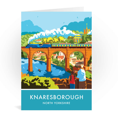 Knaresborough, North Yorkshire Greeting Card 7x5