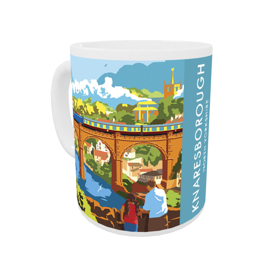 Knaresborough, North Yorkshire Coloured Insert Mug