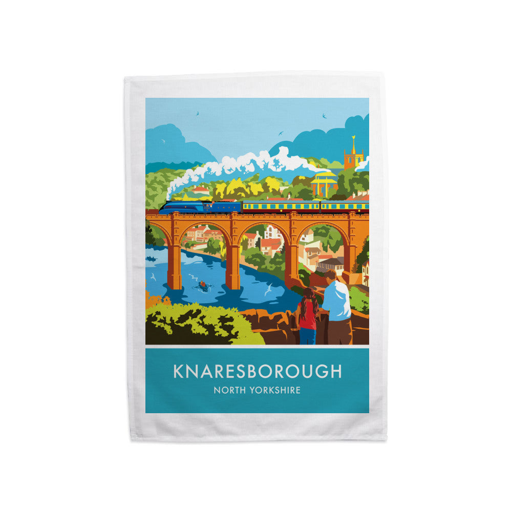 Knaresborough, North Yorkshire Tea Towel