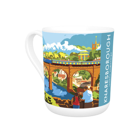 Knaresborough, North Yorkshire Bone China Mug