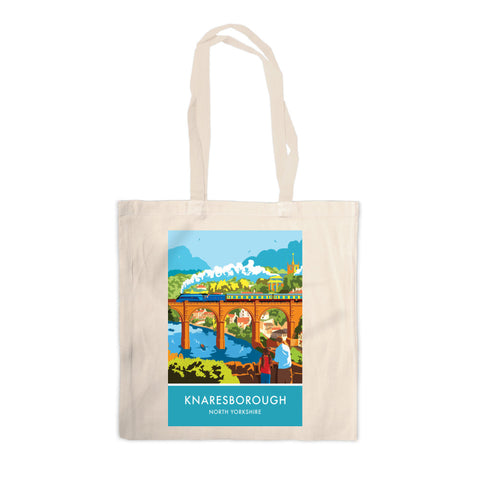 Knaresborough, North Yorkshire Canvas Tote Bag