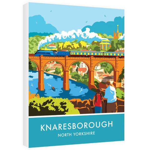 Knaresborough, North Yorkshire 60cm x 80cm Canvas