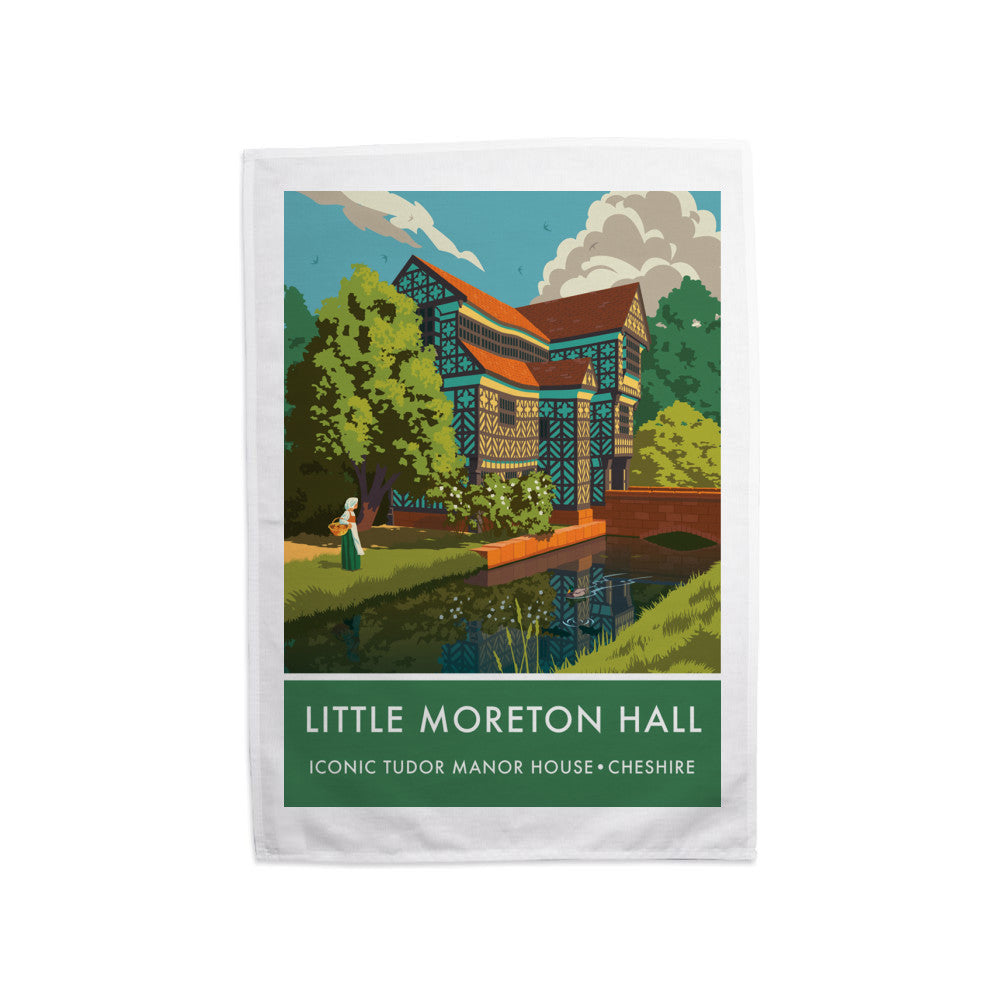 Little Moreton Hall, Cheshire Tea Towel