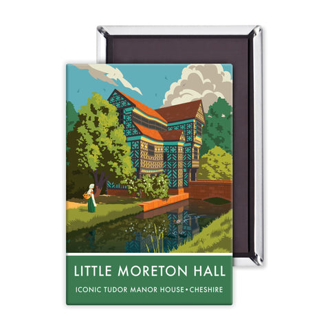Little Moreton Hall, Cheshire Magnet