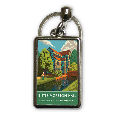 Little Moreton Hall, Cheshire Metal Keyring