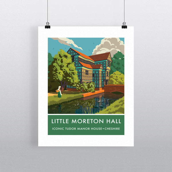 Little Moreton Hall, Cheshire 11x14 Print