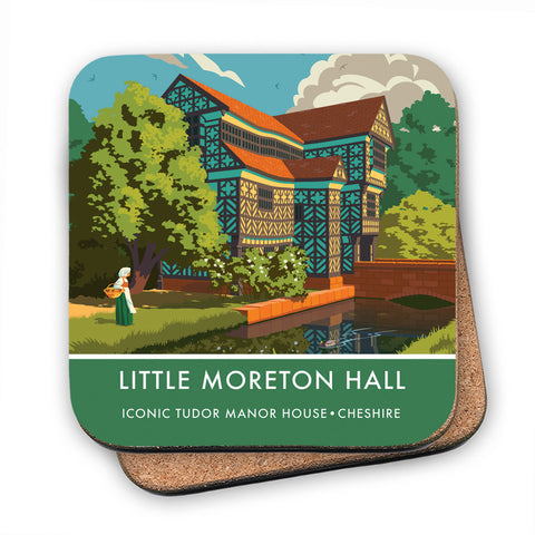 Little Moreton Hall, Cheshire MDF Coaster