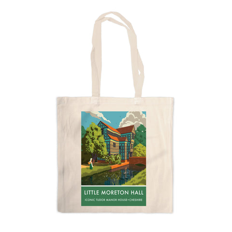 Little Moreton Hall, Cheshire Canvas Tote Bag
