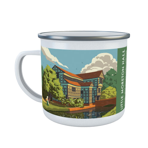 Little Moreton Hall, Cheshire Enamel Mug