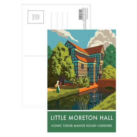 Little Moreton Hall, Cheshire Postcard Pack