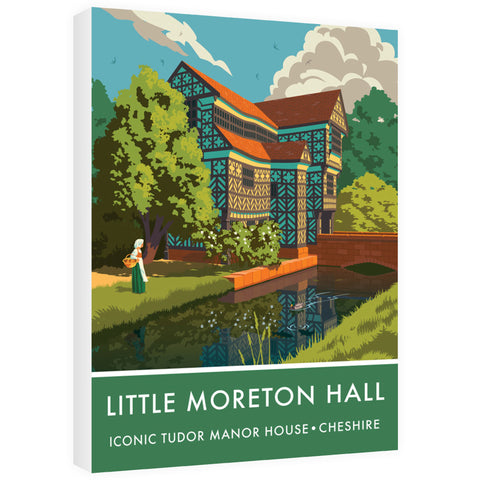 Little Moreton Hall, Cheshire 60cm x 80cm Canvas