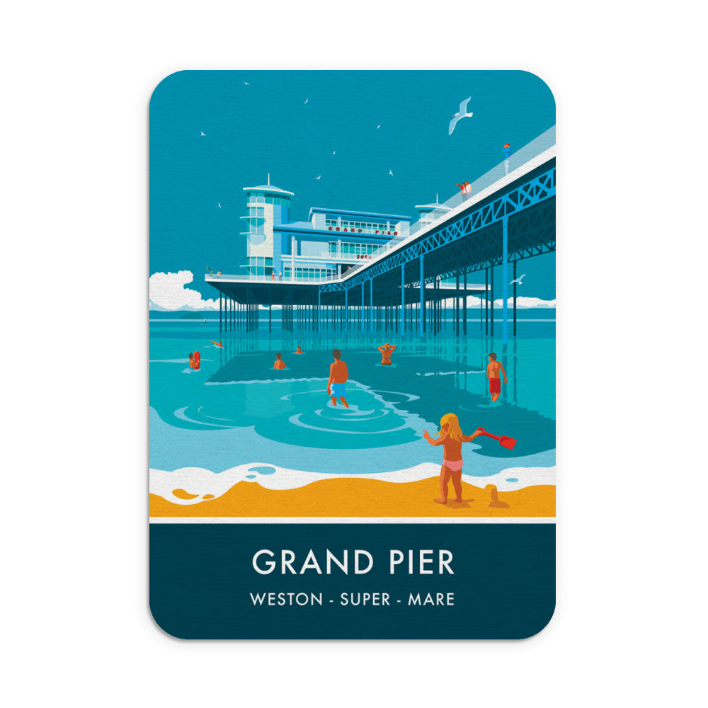 Grand Pier, Weston Super Mare, Somerset Mouse mat