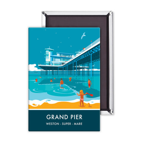 Grand Pier, Weston Super Mare, Somerset Magnet