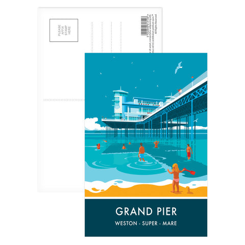 Grand Pier, Weston Super Mare, Somerset Postcard Pack