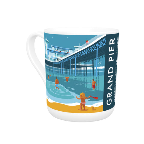 Grand Pier, Weston Super Mare, Somerset Bone China Mug