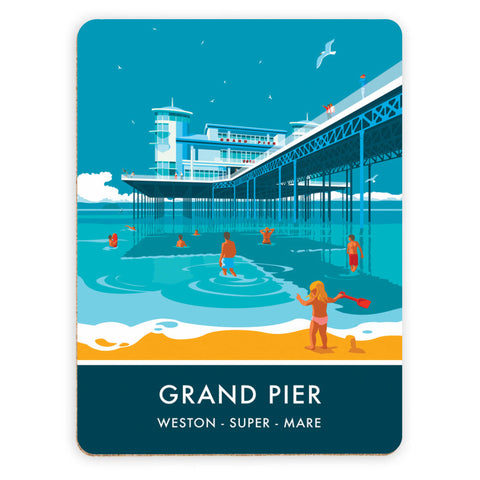 Grand Pier, Weston Super Mare, Somerset Placemat