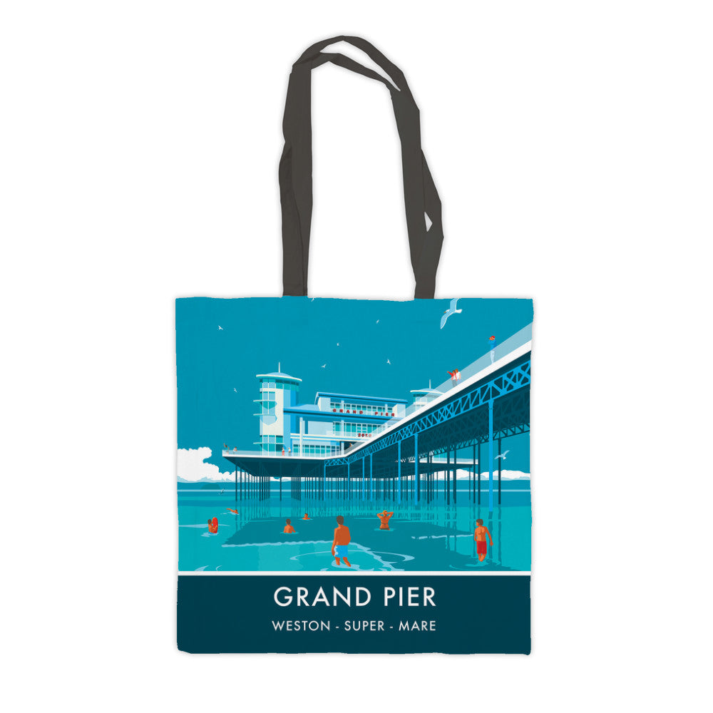 Grand Pier, Weston Super Mare, Somerset Premium Tote Bag