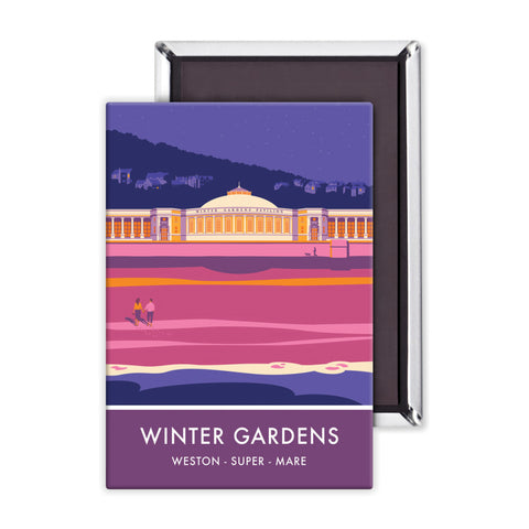 Winter Gardens, Weston Super Mare, Somerset Magnet