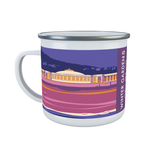 Winter Gardens, Weston Super Mare, Somerset Enamel Mug