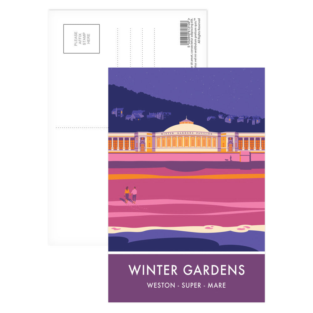Winter Gardens, Weston Super Mare, Somerset Postcard Pack