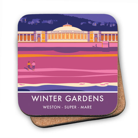 Winter Gardens, Weston Super Mare, Somerset MDF Coaster