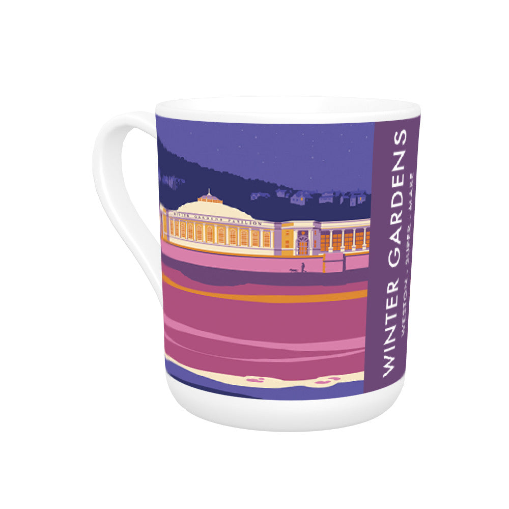 Winter Gardens, Weston Super Mare, Somerset Bone China Mug