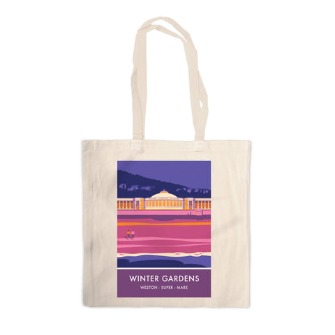 Winter Gardens, Weston Super Mare, Somerset Canvas Tote Bag