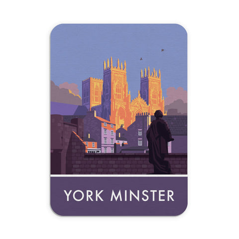York Minster, York, Yorkshire Mouse mat
