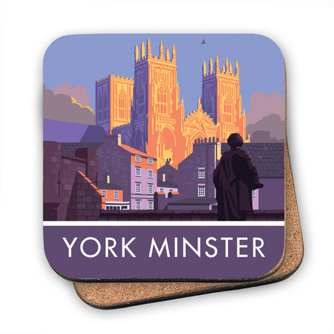 York Minster, York, Yorkshire MDF Coaster