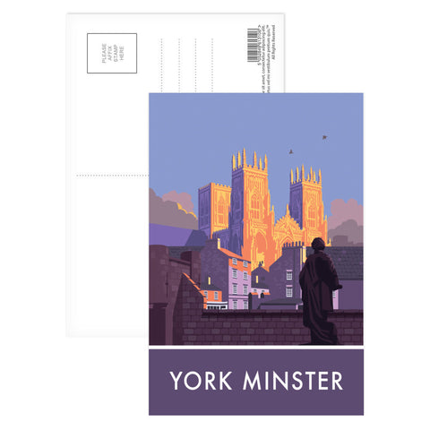 York Minster, York, Yorkshire Postcard Pack