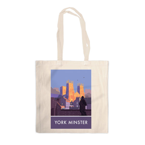 York Minster, York, Yorkshire Canvas Tote Bag