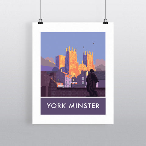 York Minster, York, Yorkshire 90x120cm Fine Art Print