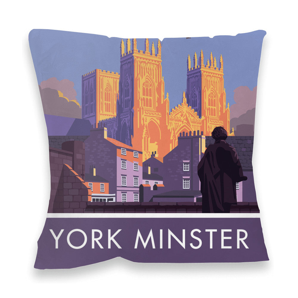 York Minster, York, Yorkshire Fibre Filled Cushion
