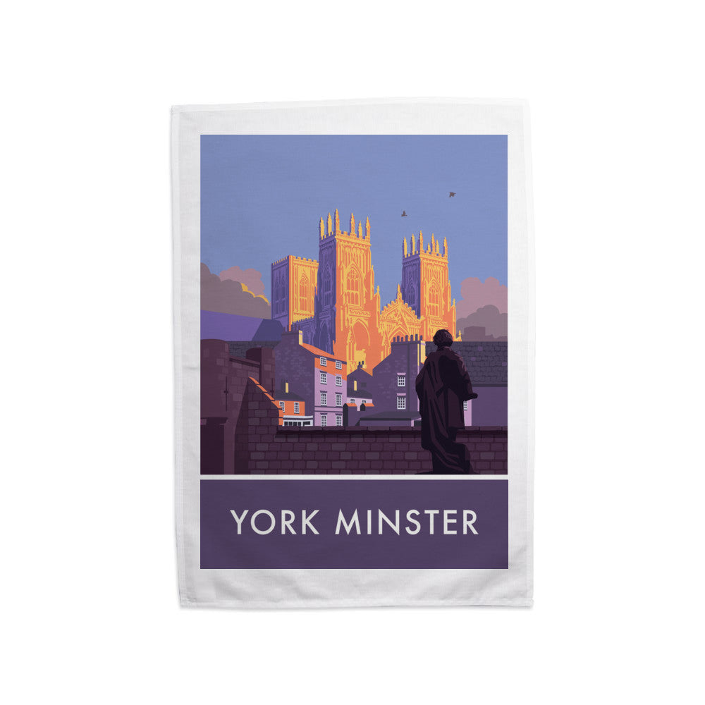 York Minster, York, Yorkshire Tea Towel