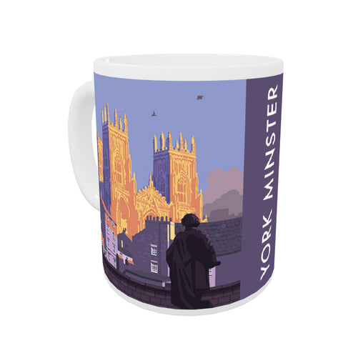 York Minster, York, Yorkshire Coloured Insert Mug