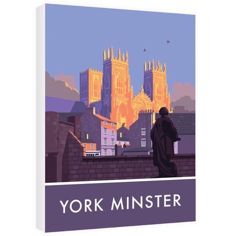 York Minster, York, Yorkshire 60cm x 80cm Canvas