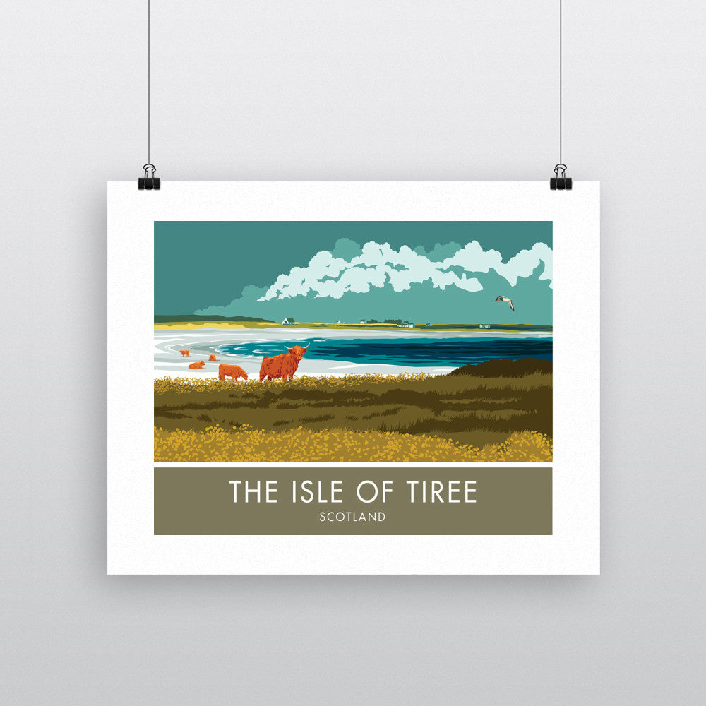 The Isle of Tiree, Scotland 90x120cm Fine Art Print